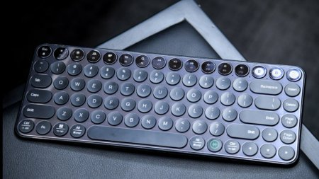 Xiaomi представила механическую клавиатуру с голосовым вводом