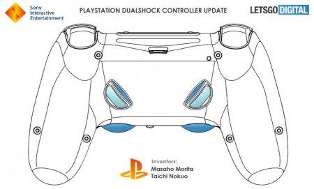 В свежем патенте Sony нашли новые схемы DualShock 5 — на этот раз с кнопками сзади