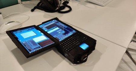 Ноутбук Aurora 7 оснащён семью экранами