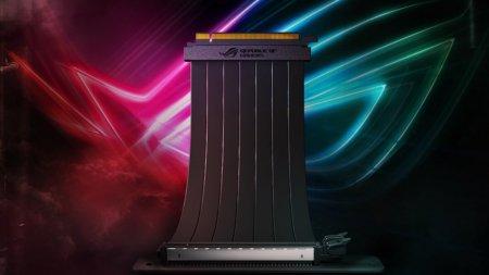 ASUS представила фирменный кабель ROG Strix Riser для видеокарт