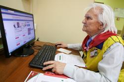 Интернет-аудитория в России выросла благодаря пенсионерам