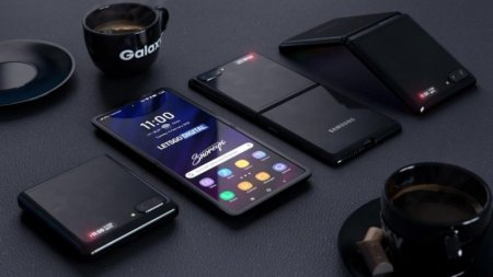 Новый складной смартфон Samsung Galaxy Z Flip показали