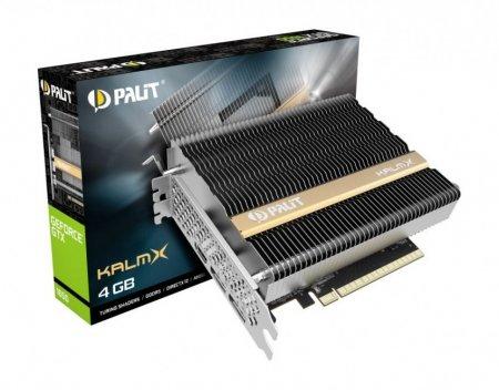 Palit представила карту GTX 1650 KalmX с полностью пассивным охлаждением