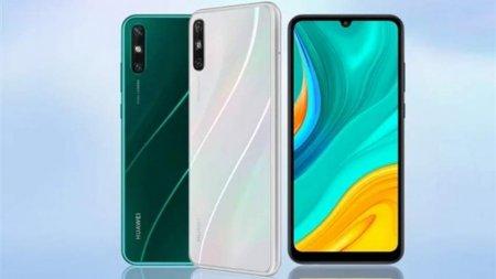 Huawei Enjoy 10e — представлен недорогой смартфон с ёмкой батареей и обратной зарядкой