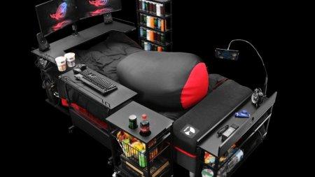 Создана кровать для геймеров почти за полтора миллиона рублей