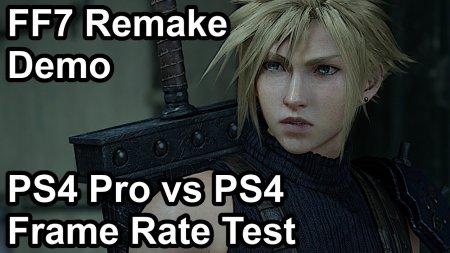 Технический анализ: ремейк Final Fantasy VII идеально работает на PS4 и PS4 Pro