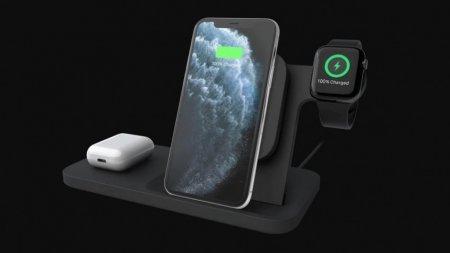 Logitech представила беспроводную зарядку для iPhone, AirPods и Apple Watch