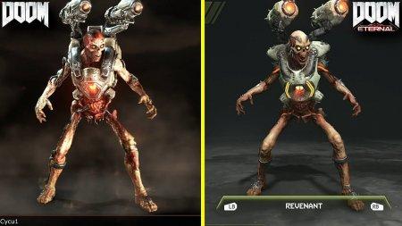 Видеосравнение графики Doom Eternal и Doom 2016