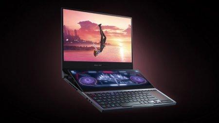 Представлен двухэкранный геймерский ноутбук ROG Zephyrus Duo 15