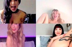 Порнозвезды начали устраивать порно-конференции из-за коронавируса