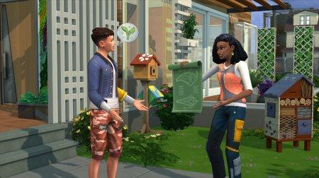 Город для Греты: авторы The Sims 4 анонсировали дополнение Eco Lifestyle