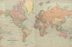 В сети нашли карту мира 1922 года и удивились многим несуществующим государствам