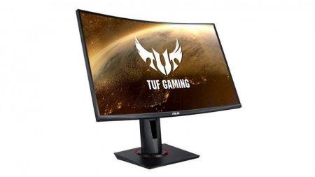 ASUS представила изогнутый игровой монитор VG27VQ линейки TUF