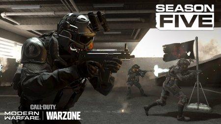 В пятом сезоне Call of Duty: Warzone появится теневая фракция — видеотизер