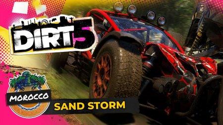 Песчаная буря в Марокко в новом геймплейном ролике DIRT 5