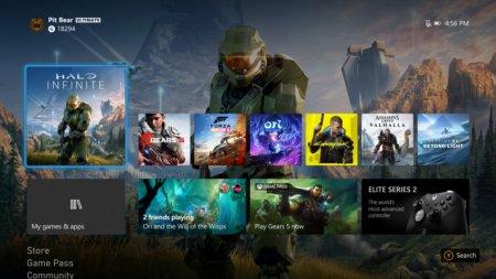 Интерфейс Xbox Series X рендерится в 1080р, тогда как у PS5 и PS4 Pro — в 4К