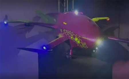 В России показан прототип аэромобиля с дальностью полёта до 600 км