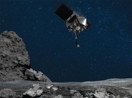 Зонд OSIRIS-REx совершил исторический манёвр, успешно взяв образцы астероида Бенну