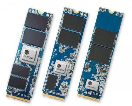 Потребительские SSD на новом контроллере Silicon Motion обеспечат скорость до 7400 Мбайт/с