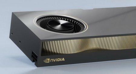 Профессиональная видеокарта NVIDIA RTX A6000 показала разочаровывающие результаты в первых тестах