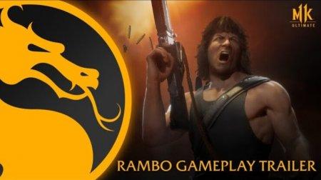 Вышел трейлер Mortal Kombat 11 с Джоном Рэмбо