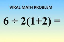 Простая математическая задача поставила пользователей сети в тупик
