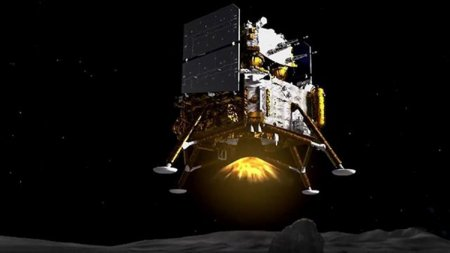 Китайский аппарат «Чанъэ-5» начал сбор лунного грунта