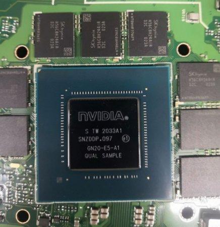 Мобильная GeForce RTX 3070 мелькнула в бенчмарке: производительность хуже, чем у RTX 3060 Ti