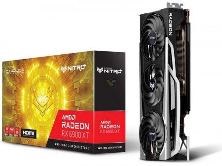 Sapphire представила огромную флагманскую видеокарту Radeon RX 6900 XT NITRO+