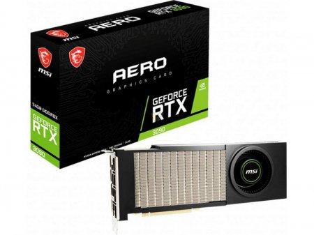 MSI представила GeForce RTX 3090 AERO с «турбиной» в стиле древней GeForce GTX 480