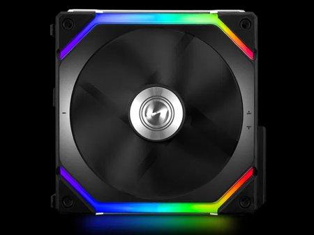Вентиляторы Lian Li Uni Fan SL140 объединяются в блоки из четырёх штук