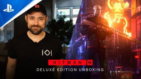 Разработчики показали содержимое Deluxe-издания Hitman 3