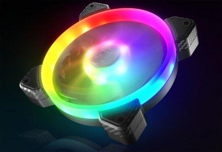 Корпусной вентилятор Cougar Vortex VX120 получил эффектную адресуемую подсветку