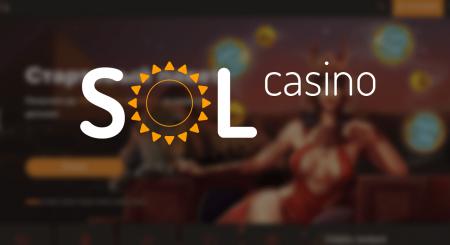Крутой онлайн клуб Sol Casino