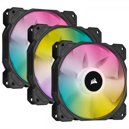 Corsair выпустила вентиляторы SP RGB Elite размером 120 и 140 мм