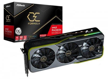 ASRock представила Radeon RX 6900 XT OC Formula — огромную видеокарту с мощной подсистемой питания с 21 фазой