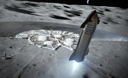 SpaceX выиграла контракт NASA на создание корабля для высадки астронавтов на Луну