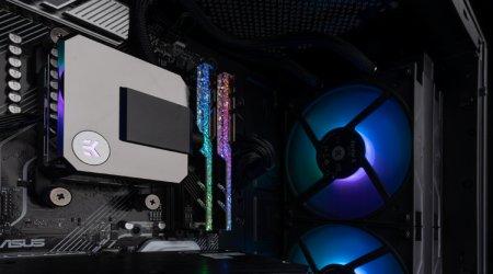 Система охлаждения EK-AIO Elite 280 D-RGB наделена четырьмя 140-мм вентиляторами
