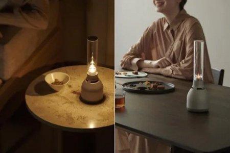 Sony выпустила беспроводную колонку LSPX-S3 со стеклянным динамиком и формой керосиновой лампы