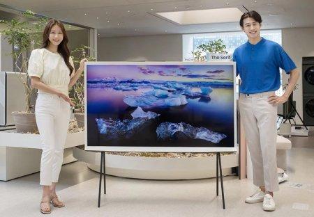 Представлен интерьерный телевизор Samsung The Serif с диагональю 65 дюймов