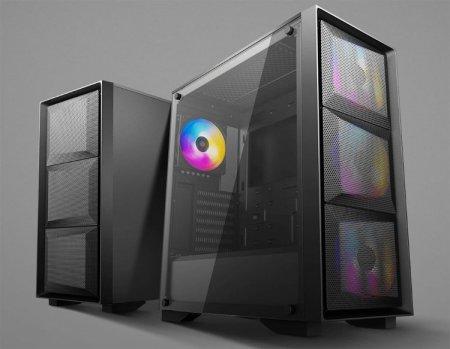 Представлен корпус Deepcool Matrexx 50 Mesh 4FS с четырьмя вентиляторами и поддержкой длинных видеокарт