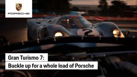 Новый рекламный ролик Gran Turismo 7 посвятили машинам Porsche
