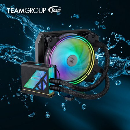 TeamGroup представила твердотельный накопитель T-Force Cardea Liquid II — первый в мире SSD с полноценной СЖО