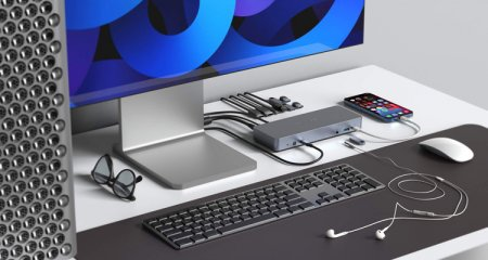 Hyper представила 14-портовую док-станцию для ноутбуков на базе Chrome OS